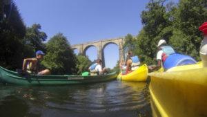 Location de canoës, kayaks et paddles
